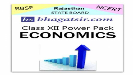 Rajasthan Board Class 12 Economics Video Lectures & Chapter